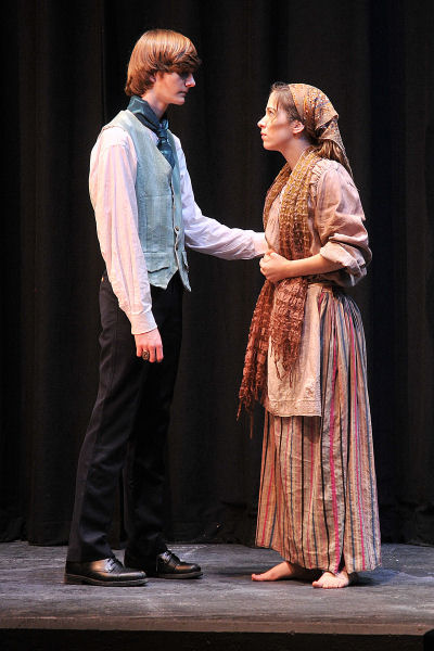 Rachael Lilly as Eponine with Marius