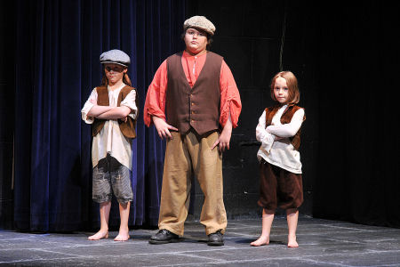 Abbigail Rose (Abbie) Satre as member of Gavroche's Gang